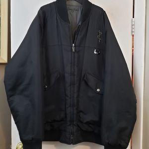 Sean John Reversible bomber jacket black or gray